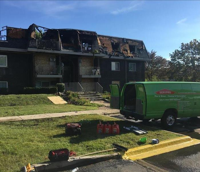 Apartment Fire Cleanup After
